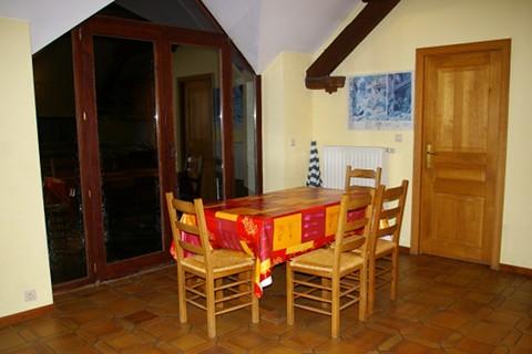 De eetkamer vakantiehuis van de grote molen - Deco van de eetkamer ...